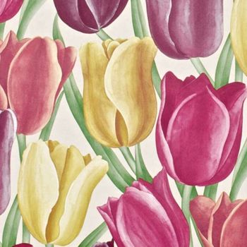 Обои Sanderson | Коллекция Vintage Wallpapers Early Tulips