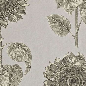 Обои Sanderson | Коллекция Vintage Wallpapers Palladio Sunflower