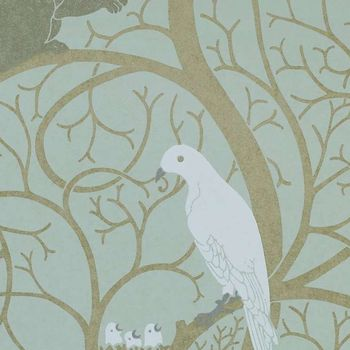 Обои Sanderson | Коллекция Vintage Wallpapers Squirrel and Dove