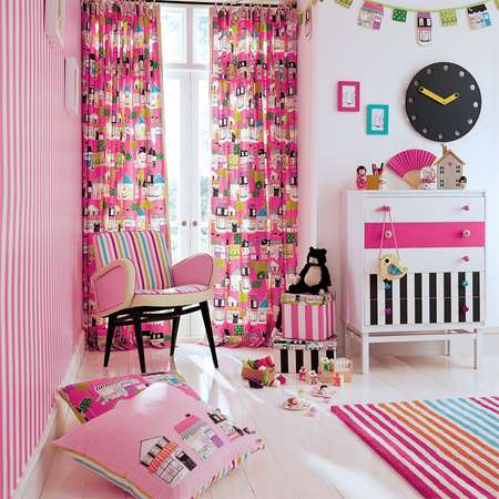Обои Harlequin | Коллекция All About Me Wallpapers Mimi Stripe