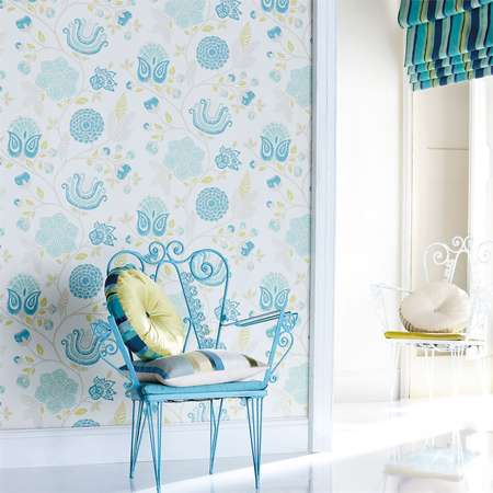Обои Harlequin | Коллекция Anoushka Wallpapers Bonita Trail