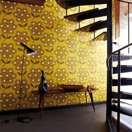 Обои Harlequin | Коллекция Orla Kiely Wallpapers Giant Rhodedendron