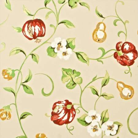 Обои Sanderson | Коллекция A Painters Garden Wallpapers Pear and Pomegranate