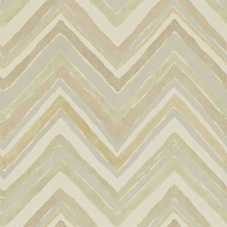 Обои Sanderson | Коллекция Bloomsbury Canvas Wallpapers Zigzag