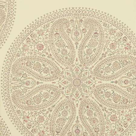 Обои Sanderson | Коллекция Caverley Wallpapers Paisley Circles