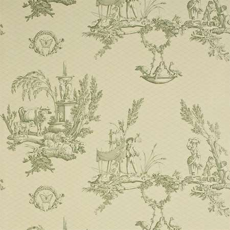Обои Sanderson | Коллекция Toile Wallpapers Vatican Doves