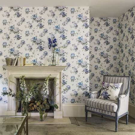 Обои Sanderson | Коллекция Waterperry Wallpapers Rhodera