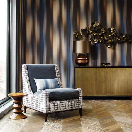Обои Zoffany | Коллекция Akaishi Wallcoverings Atmosfera