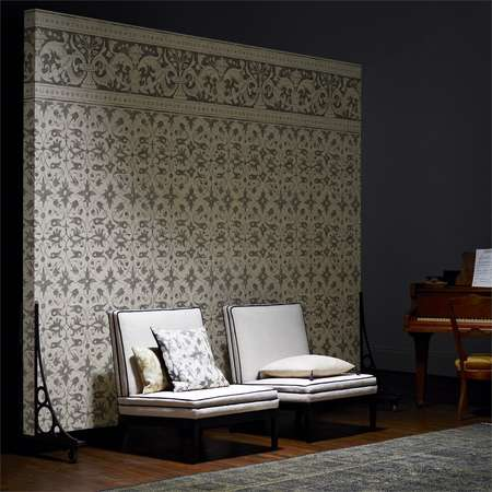 Обои Zoffany | Коллекция Arden Wallpapers by Melissa White Saffron Walden Border