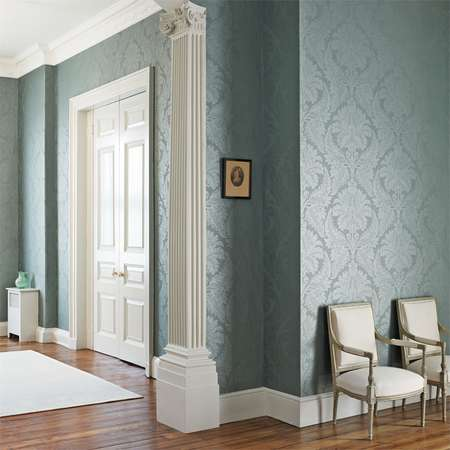 Обои Zoffany | Коллекция Constantina Damask Wallpapers Malmaison Damask