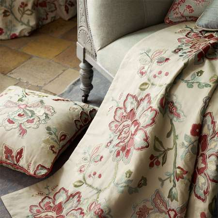 Ткани Sanderson | Коллекция Fabienne Prints and Embroideries Angelique