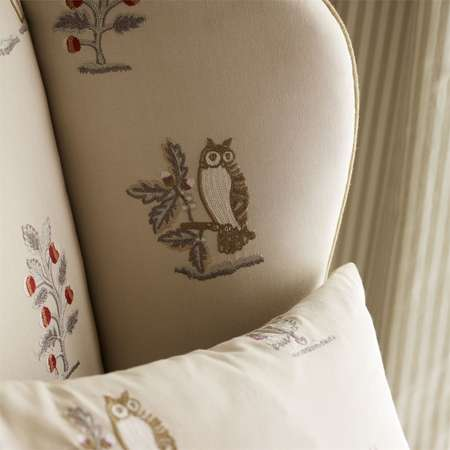 Ткани Sanderson | Коллекция Fabienne Prints and Embroideries Clemence