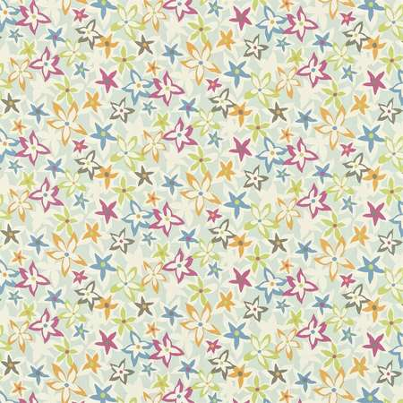 Ткани Sanderson | Коллекция Madison Prints Starflowers
