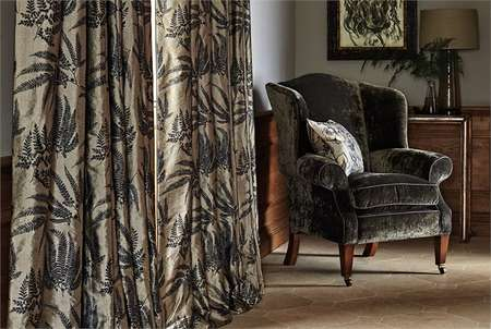 Ткани Zoffany | Коллекция Winterbourne Prints and Embroideries
