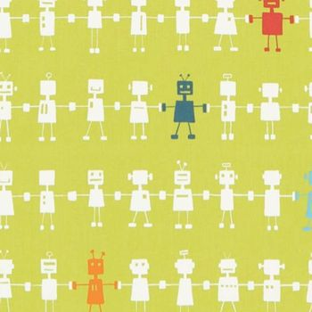 Ткани Harlequin | Коллекция All About Me Fabrics Reggie Robot