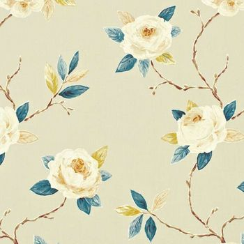 Ткани Sanderson | Коллекция Bloomsbury Canvas Ottoline