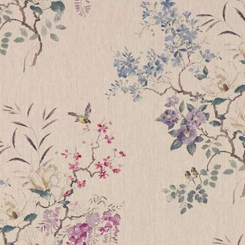 Ткани Sanderson | Коллекция Waterperry Fabrics Magnolia and Blossom