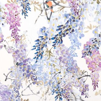 Ткани Sanderson | Коллекция Waterperry Fabrics Wisteria Falls