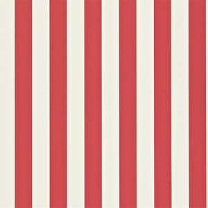 Обои Mimi Stripe Red White 110515