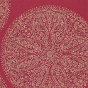 Обои Paisley Circles Red DCAVPC105