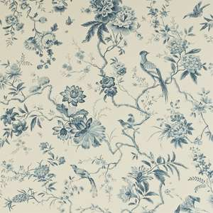 Обои Pillemont Toile Ivory China Blue DPEMPI101