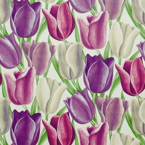 Обои Early Tulips Purple Plum DVIWEA101