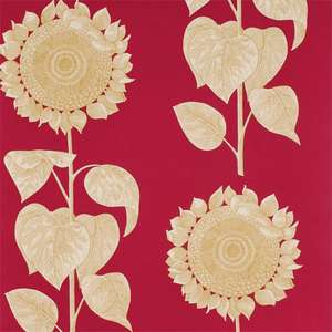 Обои Palladio Sunflower Red Gold DVIWPA102