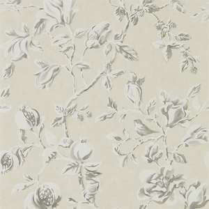 Обои Magnolia and Pomegranate Ivory Charcoal 215726