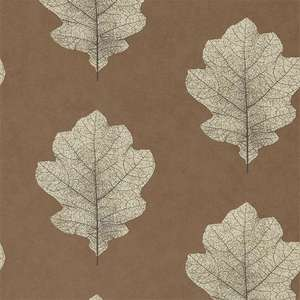 Обои Oak Filigree Copper Graphite 215701