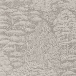 Обои Woodland Toile Linen Gilver 215718