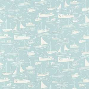 Ткань Sail Away Soft Blue and Neutral 120231