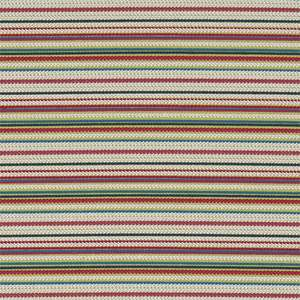 Ткань Crochet Stripe Raspberry Lime Turquoise 131402