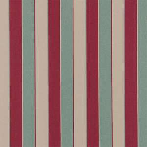 Ткань Remi Stripe Maroon Duckegg and Neutral 130283