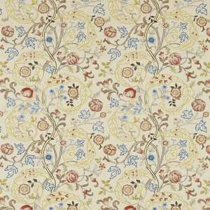 Ткань Mary Isobel Embroideries Russet Olive 230340