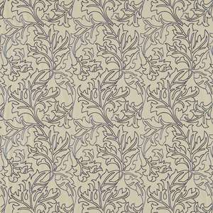 Ткань Acanthus Embroidery Vellum Woad DMOEAC302