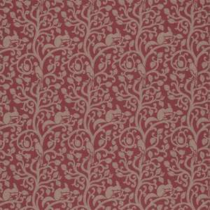 Ткань Squirrel and Dove Wool Cherry 233267
