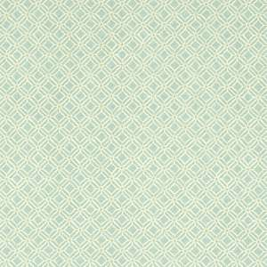 Ткань Fretwork Aqua Lime 223593