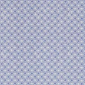 Ткань Fretwork Indigo Blue 223590