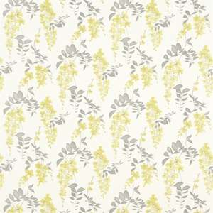 Ткань Wisteria Blossom Linden Charcoal 223578