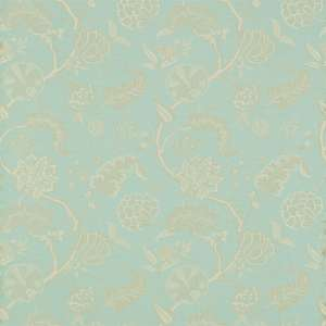 Ткань Palampore Weave Blue Cream 230984