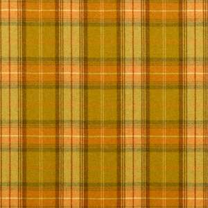 Ткань Woodford Plaid Olive Terracotta DHIGWP307