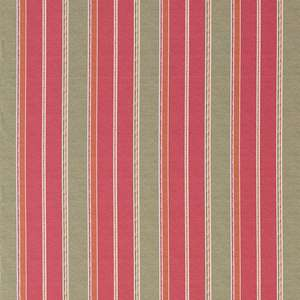 Ткань Kilim Stripe Red Green 254895