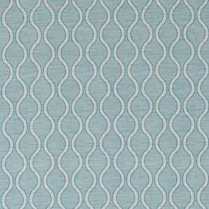 Ткань Ogee Stripe Aqua Gold 254875