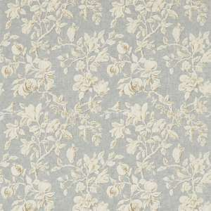 Ткань Magnolia and Pomegranate Grey Blue Parchment 225505