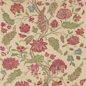 Ткань Kalamkari Red Green 321698