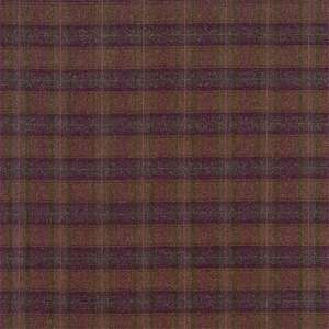 Ткань Malin Plaid Mulberry Brown 331054