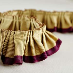 Аксессуары Pleated Ruffle Aubergine Sand 232256