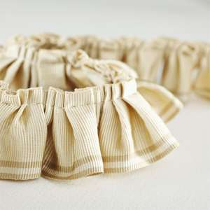 Аксессуары Pleated Ruffle Natural Ecru 232251