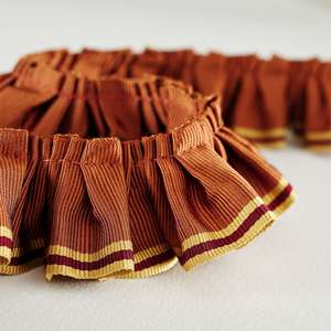 Аксессуары Pleated Ruffle Orange Ochre 232257