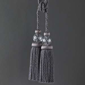 Аксессуары Lead Crystal Tie Back Anthracite 331811